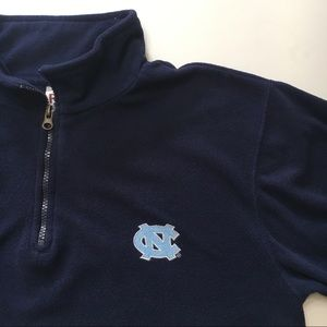 UNC Blue Pullover Fleece, sz M